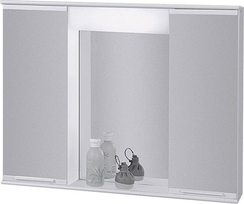 HOPA Závěsná skříňka se zrcadlem LUMIX II, III Rozměr A 60 cm, Rozměr B 15 cm, Rozměr C 40 cm OLNPSE6040