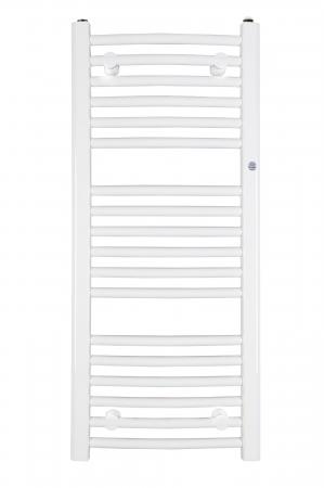 HOPA - Koupelnový radiátor OMEGA R - Rozměr radiátoru HL - 700 × 1746 mm, výkon 1069 W, Připojení radiátoru - Spodní připojení, Radiátory - Barevné provedení HL - Bílá (RADOME701735)