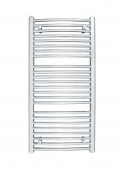 HOPA - Koupelnový radiátor OMEGA R - Rozměr radiátoru HL - 700 × 1746 mm, výkon 1069 W, Připojení radiátoru - Spodní připojení, Radiátory - Barevné provedení HL - Bílá (RADOME701735), fotografie 8/9