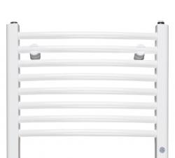 HOPA - Koupelnový radiátor OMEGA R - Rozměr radiátoru HL - 700 × 1746 mm, výkon 1069 W, Připojení radiátoru - Spodní připojení, Radiátory - Barevné provedení HL - Bílá (RADOME701735), fotografie 14/9