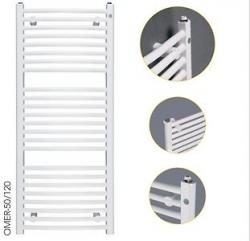 HOPA - Koupelnový radiátor OMEGA R - Rozměr radiátoru HL - 700 × 1746 mm, výkon 1069 W, Připojení radiátoru - Spodní připojení, Radiátory - Barevné provedení HL - Bílá (RADOME701735), fotografie 18/9