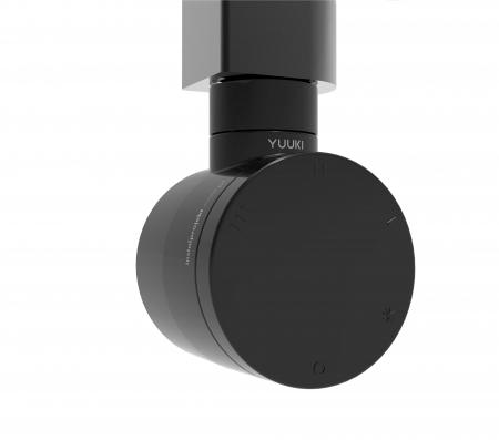 HOPA - Topná tyč YUUKI s termostatem - Výkon topné tyče - 600 W, Barevnice - Černá (RDOYUUKI06C2)