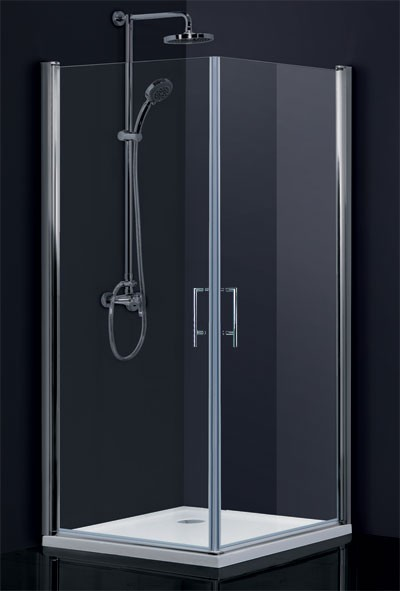 HOPA Obdélníkový a čtvercový sprchový kout SINTRA Barva rámu zástěny Hliník chrom, Rozměr A 80 cm, Rozměr B 90 cm, Směr zavírání Univerzální Levé / Pravé, Výplň Čiré bezpečnostní sklo 6 mm BCMADE280CC+BCMADE290CC