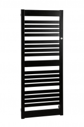 HOPA - Koupelnový radiátor FRAME SLIM - Barevnice - C31 černá matná, Rozměr radiátoru HL - 400 x 1078 mm, výkon 418 W (RADFRAS401131)