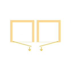 HOPA - Sprchové dveře VESTA - Výška - 190 cm, Barva rámu zástěny - Hliník bílý, Provedení - Univerzální, Výplň - Čiré bezpečnostní sklo - 6 mm, Šíře - 65 cm (BL750BC), fotografie 10/8