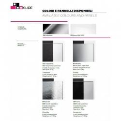 HOPA - Sprchové dveře VESTA - Výška - 190 cm, Barva rámu zástěny - Hliník bílý, Provedení - Univerzální, Výplň - Fume bezpečnostní sklo - 6 mm, Šíře - 65 cm (BL750BF), fotografie 16/8