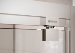 HOPA - Sprchové dveře VESTA - Výška - 190 cm, Barva rámu zástěny - Hliník bílý, Provedení - Univerzální, Výplň - Čiré bezpečnostní sklo - 6 mm, Šíře - 90 cm (BL753BC), fotografie 8/8