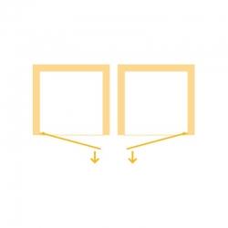 HOPA - Sprchové dveře VESTA - Výška - 190 cm, Barva rámu zástěny - Hliník bílý, Provedení - Univerzální, Výplň - Čiré bezpečnostní sklo - 6 mm, Šíře - 90 cm (BL753BC), fotografie 10/8