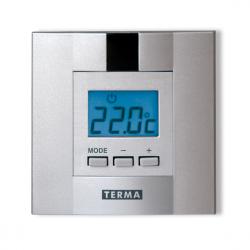 Terma termostat programovatelný s týdenním programem stříbrný DTIR1 (TGRDSI001)