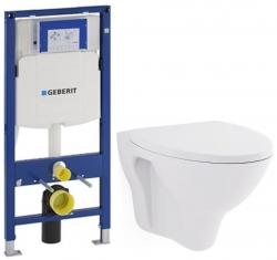 GEBERIT Duofix bez ovládací desky + WC CERSANIT ARES + SEDÁTKO (111.300.00.5 AR1)