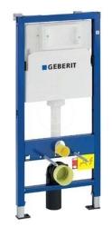 GEBERIT - Duofix Montážní prvek pro závěsné WC, 112 cm, splachovací nádržka pod omítku Delta 12 cm (458.103.00.1)