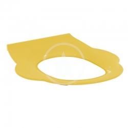 IDEAL STANDARD - Contour 21 WC dětské sedátko bez poklopu, žlutá (S454279)