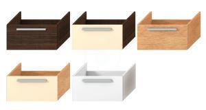 JIKA Cubito Umyvadlová skříňka pod desku, 640x465x320 mm, tmavá borovice, H4501611724451