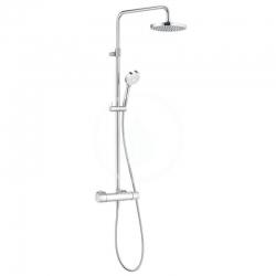 KLUDI - Logo Sprchový set Dual Shower System s termostatem, 200 mm, chrom (6809505-00)