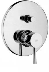 Stick Sprchová baterie pod omítku s přepínačem a tělesem, chrom (SK015CR) - PAFFONI