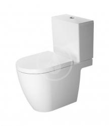 DURAVIT - ME by Starck WC kombi mísa, zadní odpad, alpská bílá (2172090000)