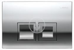 GEBERIT - Delta Ovládací tlačítko DELTA50, lesklý chrom (115.135.21.1)