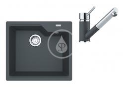 FRANKE - Sety Set G178, fragranitový dřez UBG 610-56 a baterie FG 7486.099, grafit/grafit (114.0619.626)