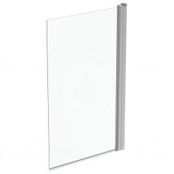 IDEAL STANDARD - Connect 2 Vanová zástěna 800x1400 mm, silver bright/čiré sklo (T9923EO)