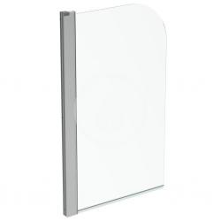 IDEAL STANDARD - Connect 2 Vanová zástěna 800x1400 mm, silver bright/čiré sklo (T9924EO)