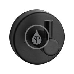 SANELA - Nerezové doplňky Nerezový háček, matná černá (SLZD 02N)