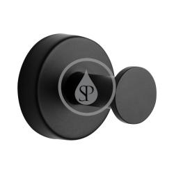 SANELA - Nerezové doplňky Nerezový háček, matná černá (SLZD 03N)