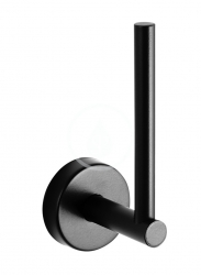 SANELA - Nerezové doplňky Nerezový držák toaletního papíru, matná černá (SLZD 23N)