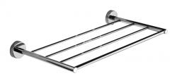 SANELA - Nerezové doplňky Nerezová polička na ručníky, délka 600 mm, lesklá nerez (SLZD 35)