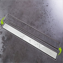 STACATO - VIGGY sprchový nerezový žlab s roštem 600mm (VI680)
