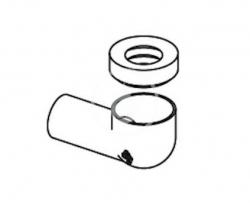 Laufen - Příslušenství Připojovací potrubí odpadu (H8949730000001)