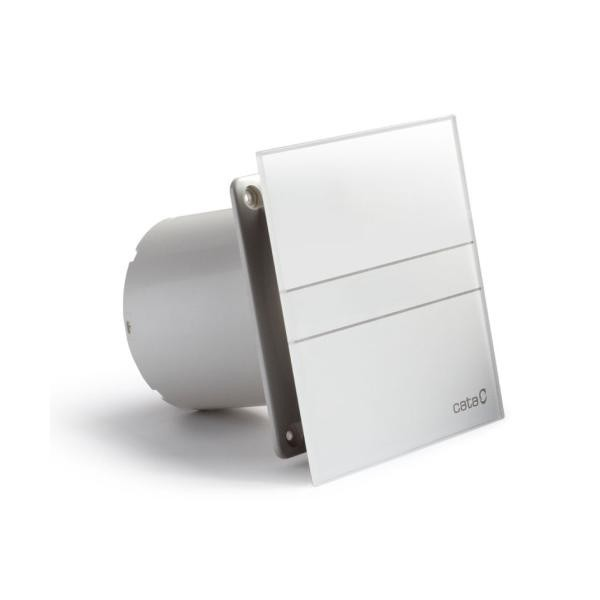 HOPA Axiální ventilátory na zeď či do stropu E100 GT, s časovačem, sklo bílé CATA00900100