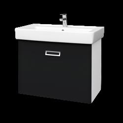 Dřevojas - Výprodej 226 - QMONO800Ssp.skříň,ČERNÁ+umyvadlo (60834)
