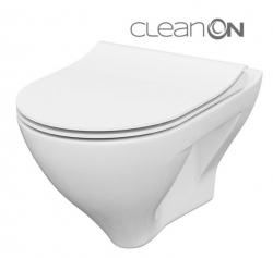 CERSANIT - SET B291 závěsná mísa MILLE CLEAN ON včetně dur. sedátka SLIM (S701-453)