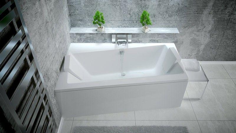 HOPA Asymetrická vana ASTI Nožičky k vaně S nožičkami, Rozměr vany 160 × 100 cm, Způsob provedení Pr