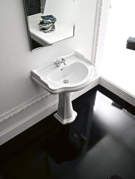 KERASAN - RETRO keramické umyvadlo 56x46,5cm (104501)