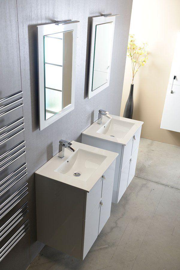 SAPHO - SLIM keramické umyvadlo 60x46cm, nábytkové (1601-60)