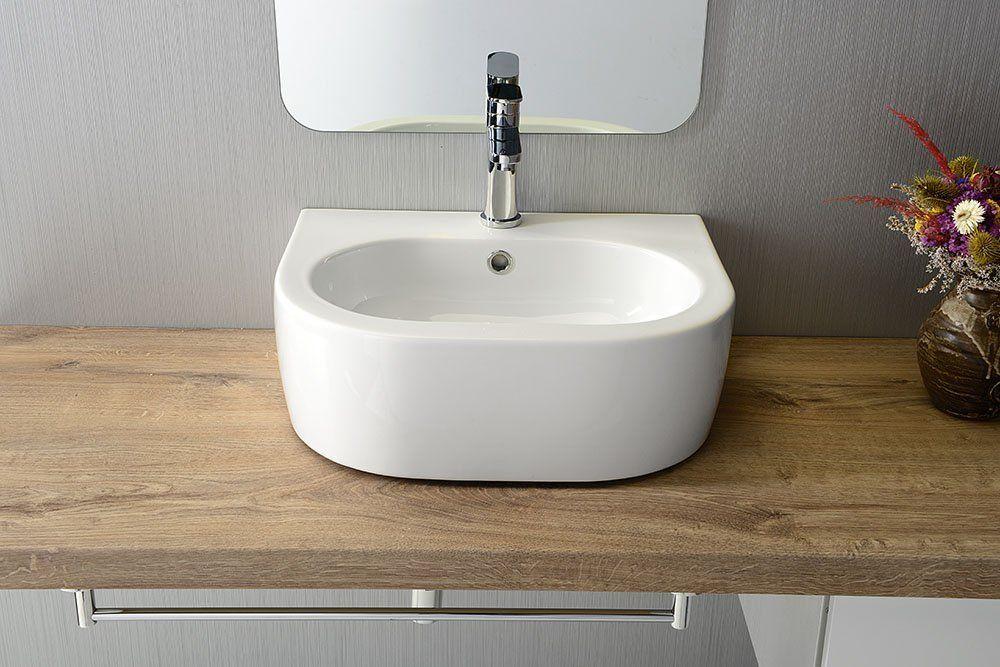 KERASAN - FLO keramické umyvadlo 50x40cm (314101)