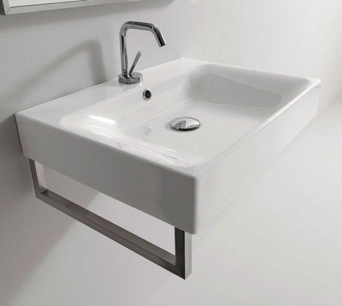 KERASAN - CENTO keramické umyvadlo 60x45cm (353101)