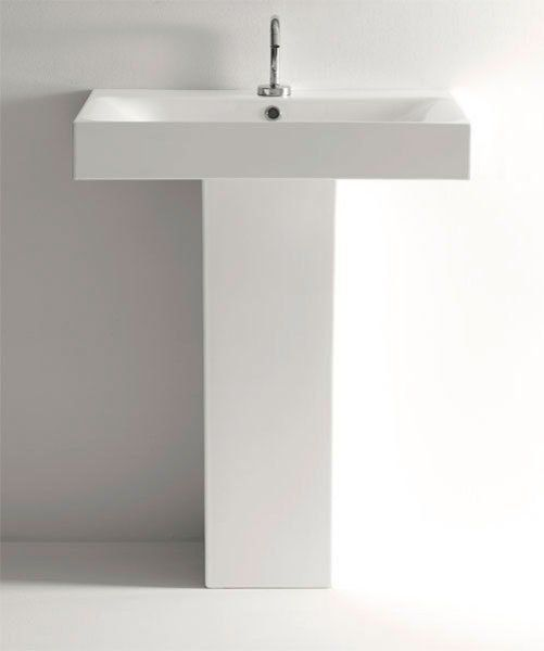 KERASAN - CENTO keramické umyvadlo 80x45cm (353301)