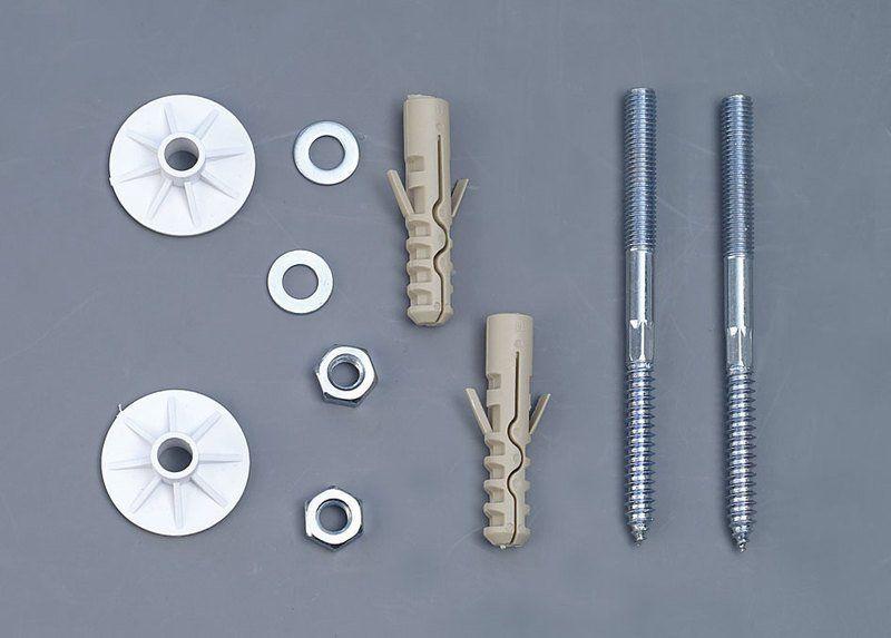 AQUALINE - UAK14 komplet pro kotvení umyvadel, šroub 10x120 (40017)
