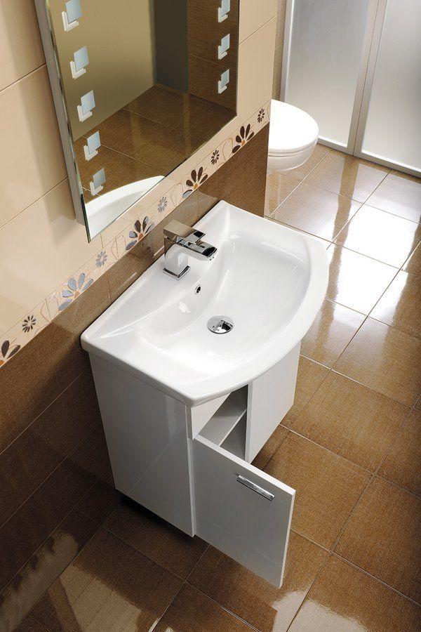 AQUALINE - ZERO nábytkové umyvadlo 75x48,5cm (6075)