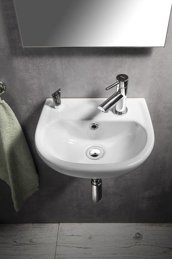 AQUALINE - OVAL keramické umývátko 35x29cm (TP135)