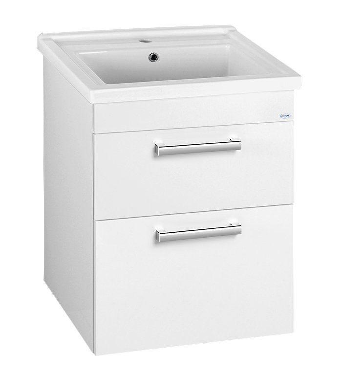 AQUALINE - ZENO 60 nábytkové umyvadlo 60x48,5cm (8060)