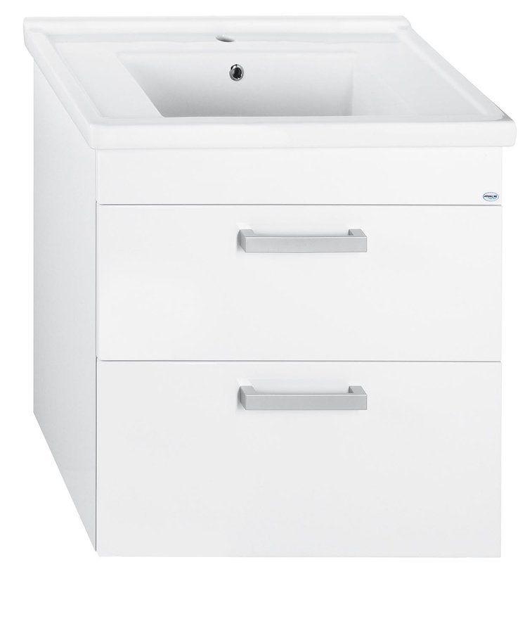 AQUALINE - ZENO 80 nábytkové umyvadlo 80x48,5cm (8080)