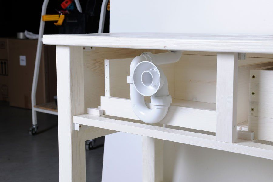SAPHO - BRAND umyvadlová skříňka 130x73x50cm, starobílá (BA132)