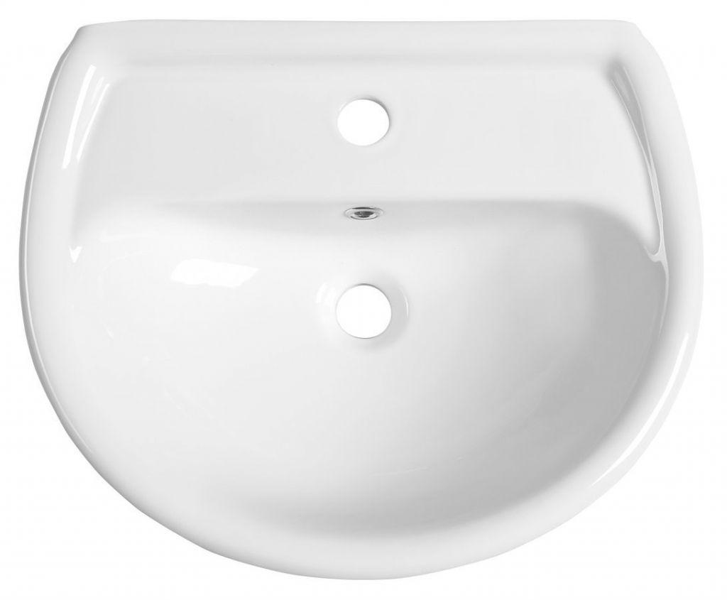 AQUALINE - Keramické umyvadlo 50x40cm (20501)
