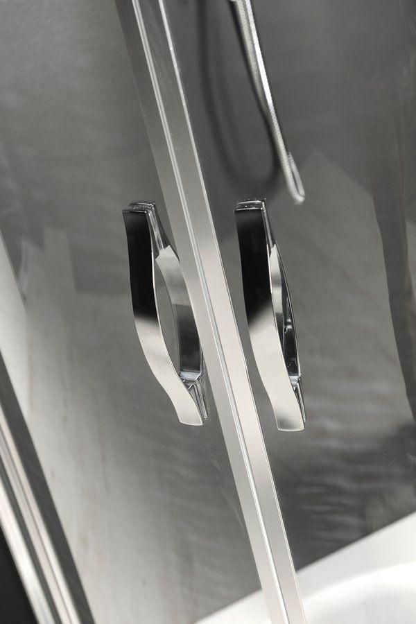 GELCO - ONE čtvrtkruhová sprchová zástěna 800x800 mm, čiré sklo (GO5880)