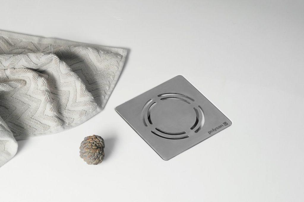 POLYSAN - FLEXIA vanička z litého mramoru s možností úpravy rozměru, 100x100x3cm (71552)