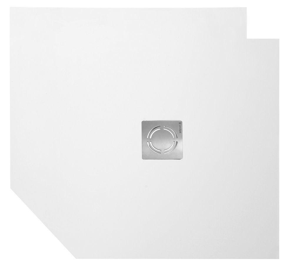 POLYSAN - FLEXIA vanička z litého mramoru s možností úpravy rozměru, 90x90x3cm (71546)