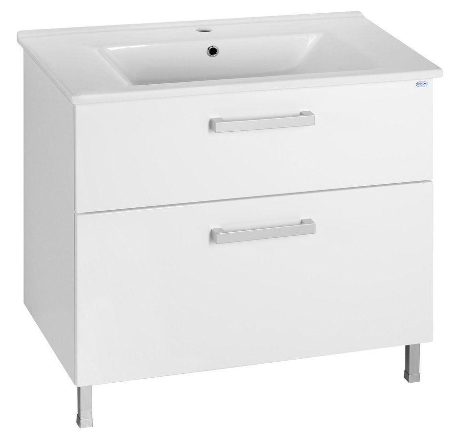 AQUALINE - ZUNO 85 nábytkové umyvadlo 85x45cm (9085)